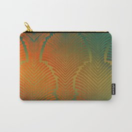 """""""Paradise Zebras Spines"""" Carry-All Pouch"""
