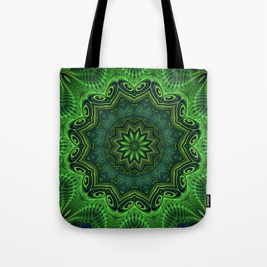 Harmony in Green Tote Bag