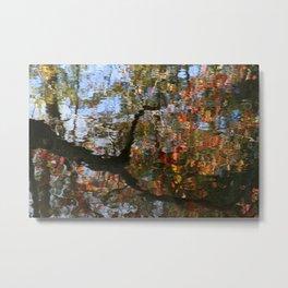 Autumn Reflections.   Metal Print