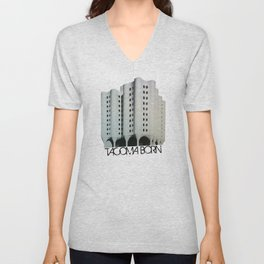 Tacoma Born - St. Josephs Hospital  Unisex V-Neck