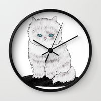 grumpy Wall Clocks featuring grumpy by manje