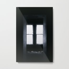 Dark Empty Room Metal Print