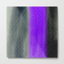 Diamond Effect Metal Print