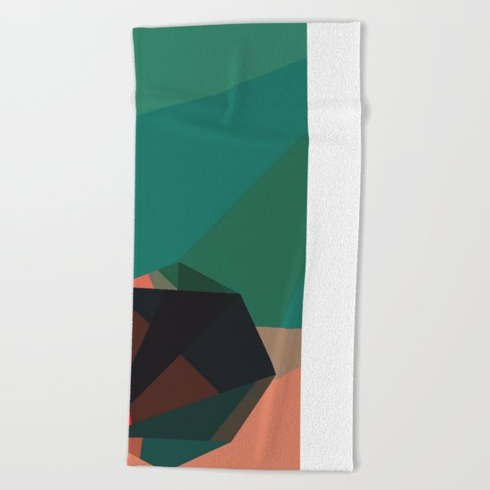 Shape Play 1 Beach Towel