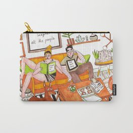 Living life in peace Carry-All Pouch