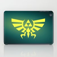 triforce iPad Cases featuring Zelda Triforce by WaXaVeJu