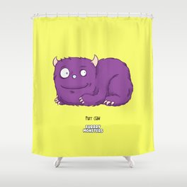 Purr claw Shower Curtain