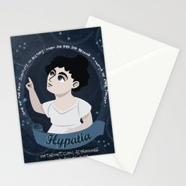 Women in science | Hypatia, mathematician, astronomer, philosopher Stationery Cards