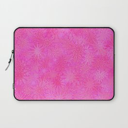 Cotton Candy Winter Festive Abstract Laptop Sleeve
