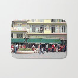 Activity in the Town Square Bath Mat