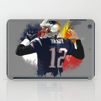 nfl iPad Cases featuring Tom Brady by J Maldonado