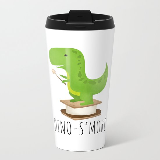 Dino-S'more Metal Travel Mug