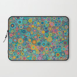 Psychedelic funky Seventies disco party Laptop Sleeve