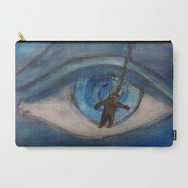 Kraken eyeball vs deep sea diver Carry-All Pouch