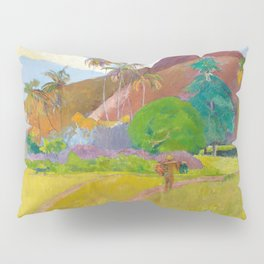 Tahitian Landscape by Paul Gauguin Pillow Sham