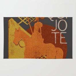 Books Collection: Don Quixote Rug