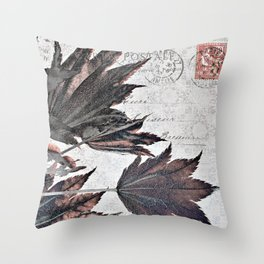 flying maple Throw Pillow