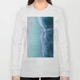 Turquoise Sea Long Sleeve T-shirt