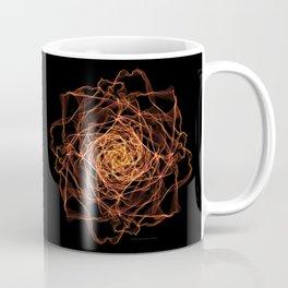 Fire Rose Coffee Mug