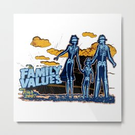 FAMILY VALUES CONCERT Metal Print