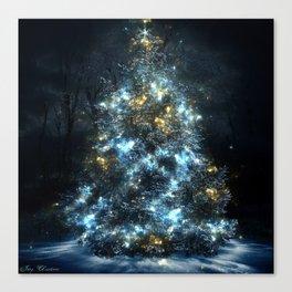 The Magical Christmas Tree Canvas Print