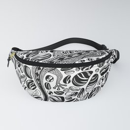 Gecko and pebbles Fanny Pack