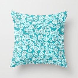 Absract Circles Throw Pillow