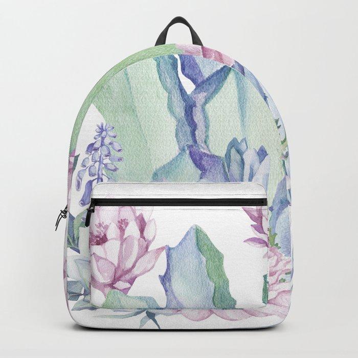 Desert Love Cactus + Succulents Backpack