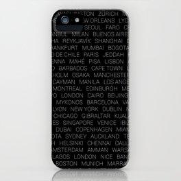 Destinations iPhone Case