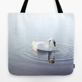the beautiful swan Tote Bag