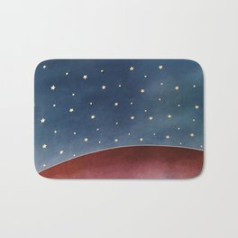 Planet of Stars Bath Mat