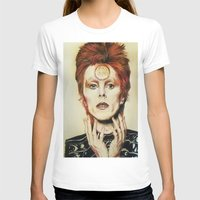 david bowie T-shirts featuring Bowie by Taylor Bellah