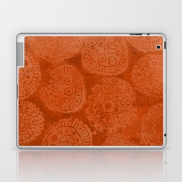 Tribal Terracota Rounds Laptop & iPad Skin