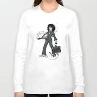 ripley Long Sleeve T-shirts featuring Ripley  by shugmonkey