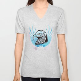 Wings Like Eagles Unisex V-Neck