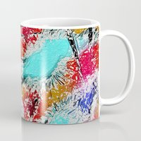 the xx Mugs featuring Abstract XX by Mr and Mrs Quirynen