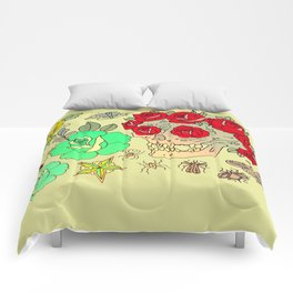 Traditional Flash 1 Comforters