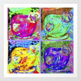 Big Apples Art Print