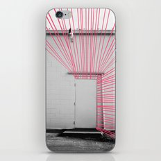White Door, Red-Pink Prism iPhone & iPod Skin