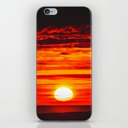 Isle of Anglesey Windmill Sunset over Irish Sea iPhone Skin
