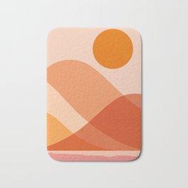 Abstraction_Mountains_Beach_Minimalism_001 Bath Mat