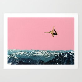 Higher Than Mountains Art Print