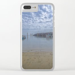 Calm Waters. Clear iPhone Case