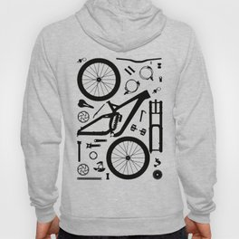 "Downhill Bike Parts ""Session"" Hoody"