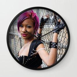 Princess Anathema - Chainlink Princess Wall Clock