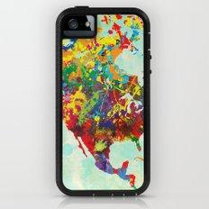North America Splattered iPhone (5, 5s) Adventure Case