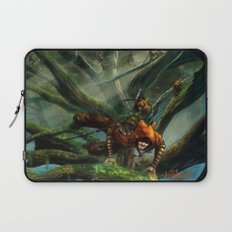 Forest Parkour  Laptop Sleeve