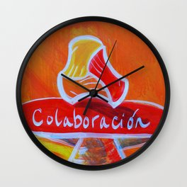 Colaboración // Collaboration Wall Clock