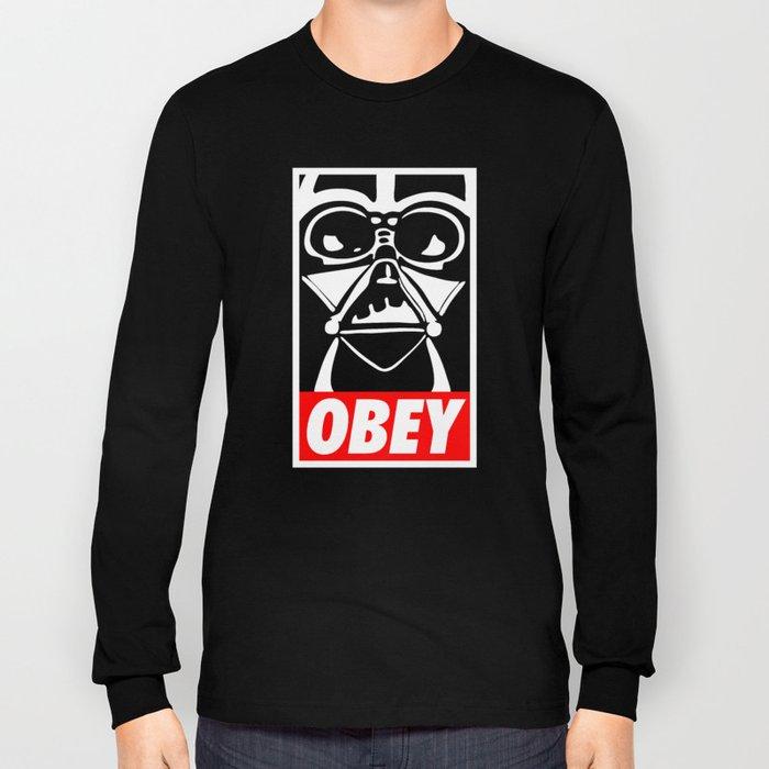 Obey Darth Vader - Star Wars Long Sleeve T-shirt