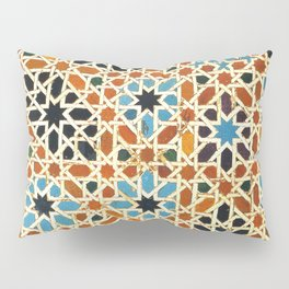 Details of Lindaraja in the Alhambra Pillow Sham